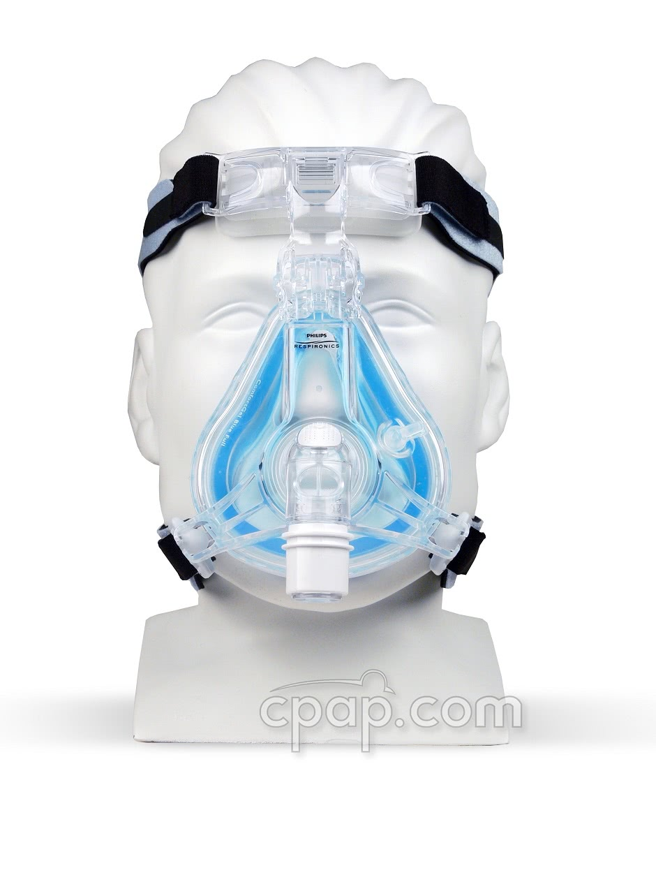 ComfortGel Blue Full Face CPAP Mask by Respironics