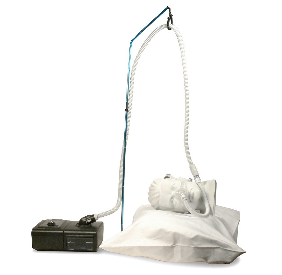 CPAP hose lift system