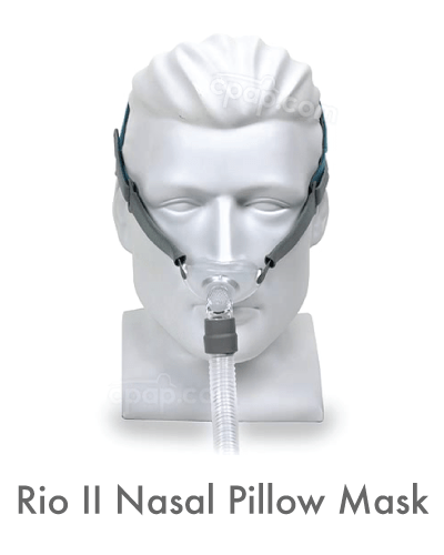 rio 2 nasal pillow cpap mask